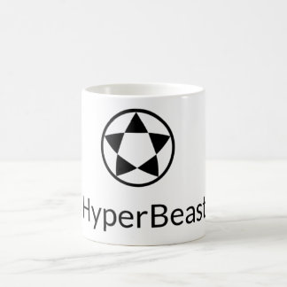 Blanc tasse w/Logo de 11 onces