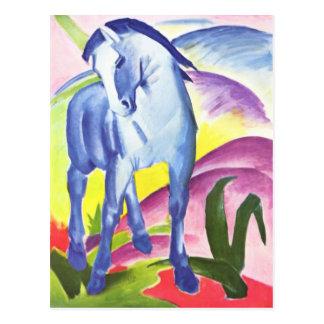 Blaues Pferd I par la carte postale de Franz Marc