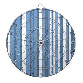 Blauw-grijze Strepen; Gestreept Dartbord
