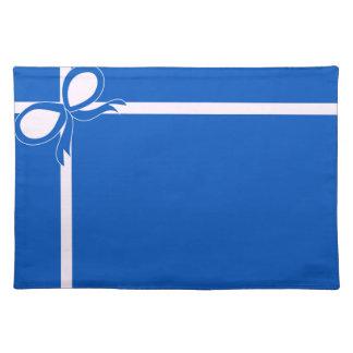 Blauwe en Witte Placemat