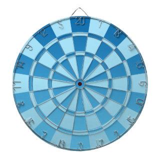 Blauwe Ombre Dartbord