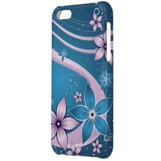 blauwe roze bloemen - vectorart. hoesje voor iPhone 5C
