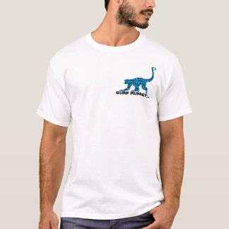 Bleu - avant de Munkey/dos de Longboarder T-shirt