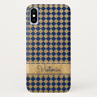 Bleu, cas de l'iPhone X de Coque-Compagnon de Coque iPhone X