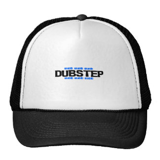 Bleu de Dubstep Wob Wob Casquette Trucker