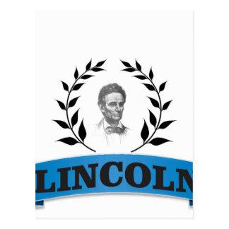 bleu de Lincoln Carte Postale