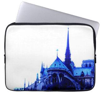 Bleu de Notre Dame Housse Pour Ordinateur Portable