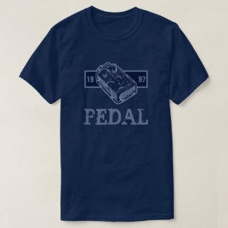 Bleu de pédale de déformation/bleu 1997 de Lite T-shirt