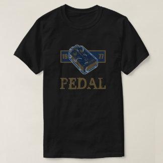 Bleu de pédale de déformation/or 1977 t-shirt