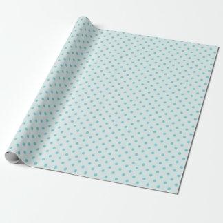 Bleu de poudre et papier d'emballage bleu moyen de papier cadeau