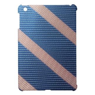 Bleu de Rayures/Personnalisable rose Coques Pour iPad Mini
