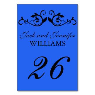 Bleu du numéro   de Tableau de mariage avec