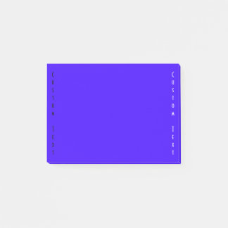 Bleu/indigo simples post-it®