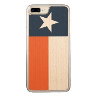Bleu marine et orange coque carved iPhone 8 plus/7 plus