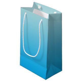 Bleu Ombre d'Aqua Petit Sac Cadeau