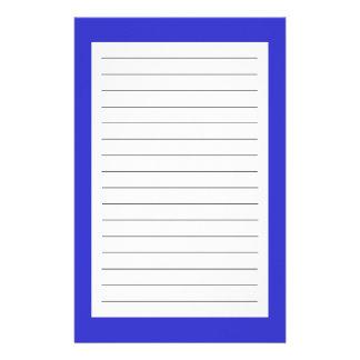 Bleu Papiers À Lettres