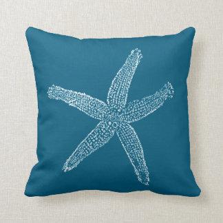 Bleu turquoise d'illustration vintage d'étoiles de oreillers