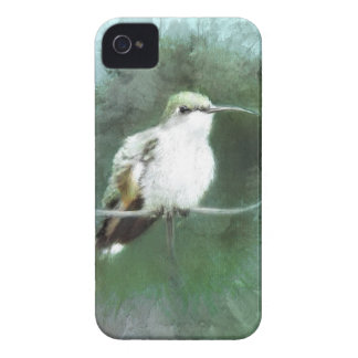 bleus de colibri coque iPhone 4
