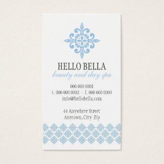 Bleus layette pâles de motif moderne simple ASSEZ Cartes De Visite