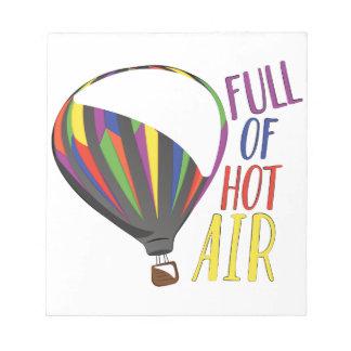 Bloc-note Air chaud