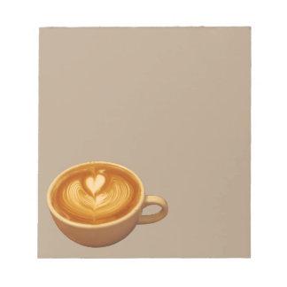 Bloc-note Amour de café