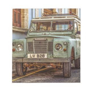 Bloc-note Automobile de rue du véhicule 4x4 de voiture