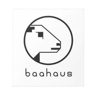 Bloc-note Baahaus