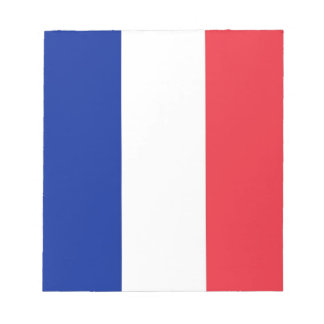 Bloc-note Bloc - notes avec le drapeau de la France