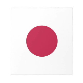 Bloc-note Bloc - notes avec le drapeau du Japon