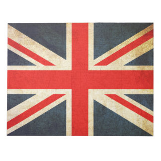 Bloc-note Bloc - notes britannique vintage de drapeau