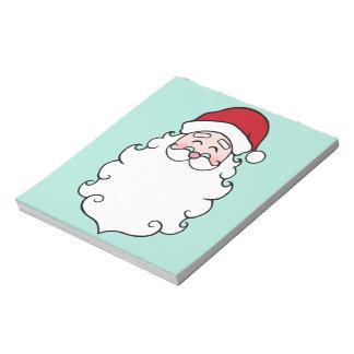 Bloc-note Cadeau de bloc - notes de vacances de Noël du père