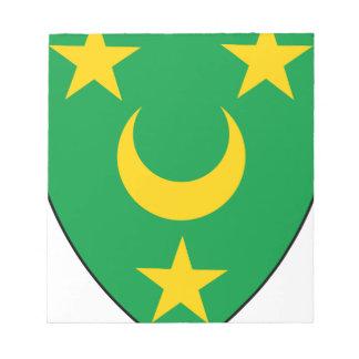 Bloc-note Coat_of_arms_Algeria_ (1830-1962)
