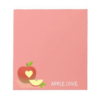 Bloc-note Demi d'Apple