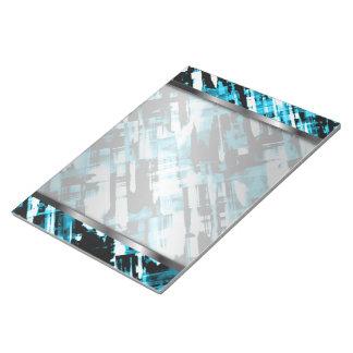 Bloc-note Digitalart chaud G253 d'abrégé sur noir bleu de