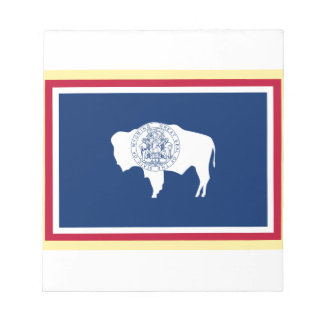 Bloc-note Drapeau du Wyoming