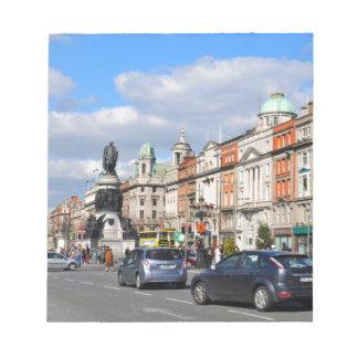 Bloc-note Dublin. L'Irlande