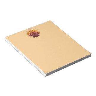 Bloc-note Feston Shell orange