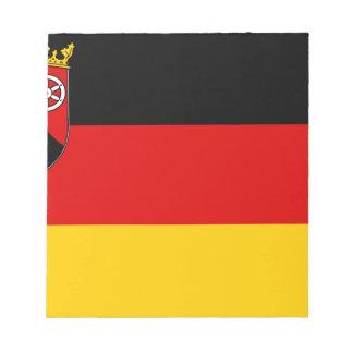 Bloc-note Flag_of_Rhineland-Palatinate