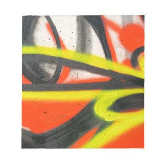 Bloc-note Graffiti de rue