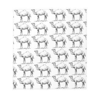 Bloc-note groupe de troupeau de chameaux