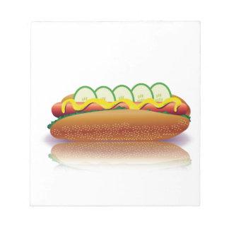 Bloc-note hot-dog