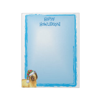 Bloc-note Howlidays heureux Briard