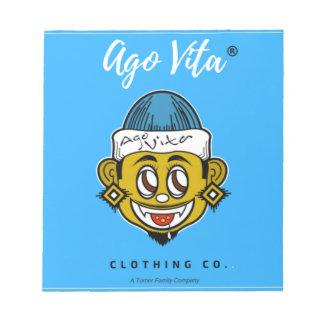 Bloc-note Il y a la marque d'habillement de Vita