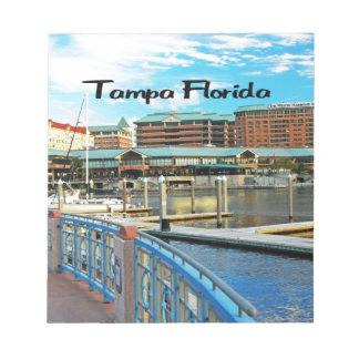 Bloc-note Île de port de Tampa la Floride