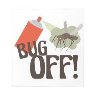 Bloc-note Insecte !