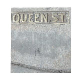 Bloc-note La rue de la Reine… réussissent votre pourcentage