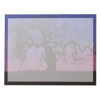 Bloc-note L'arbre Gnarly