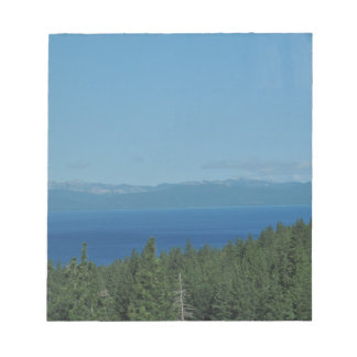 Bloc-note Le lac Tahoe
