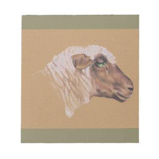 Bloc-note Les moutons hargneux