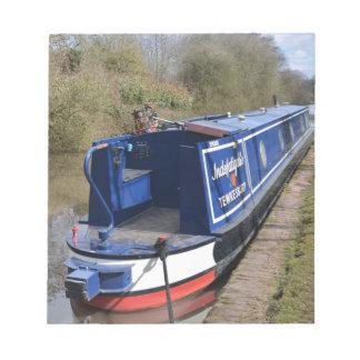 Bloc-note Narrowboat infatigable